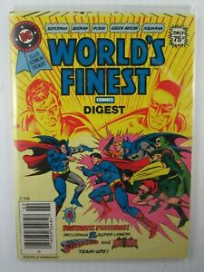 1981 WORLD'S FINEST DC Special Series #23 Blue Ribbon Digest 7.5  VF-