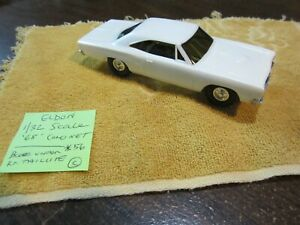 Used Vintage Eldon 1/32 Scale '68' Dodge Coronet Slot Car White (see pictures)