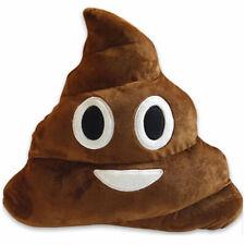 Big Emoji Poo Cushion Emoticon Poop Pillow Stuffed Flush Toys Kids Gift