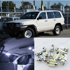 White LED Interior Light Package Kit For Toyota Landcruiser 100 series 1998-2007
