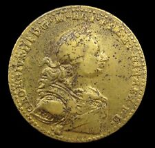 More details for 1761 coronation of george iii 34mm bronze medal - by natter