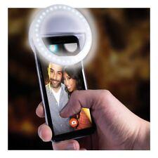 Universal Selfie LED Light Ring Clip Natural Flash Light For Smartphones Camera