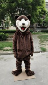 Bear Mascot Costume  Cosplay Party Dress Outfits Advertising  Carnival  Fursuit