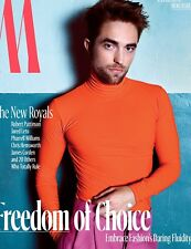 ROBERT PATTINSON/HAILEE STEINFELD - W MAGAZINE - OCTOBER 2017 - DUAL COVER!