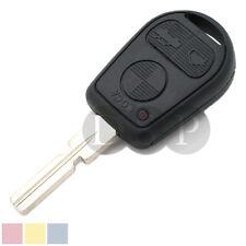 Remote Key Shell fit for BMW E31 E32 E34 E36 E38 E39 E46 Z3 Case Fob 3 BTN Uncut