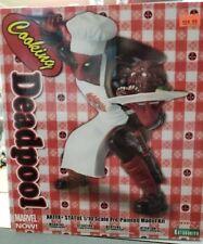 Kotobukiya Marvel Universe Cooking Deadpool Artfx+ MK252 Collectible Figure