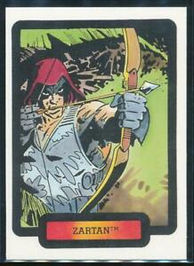1987 GI Joe Files Trading Card #26 Zartan