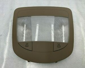 2013 - 2019 MERCEDES GL GLS - REAR OVERHEAD DOME LIGHT READING LAMP BEIGE OEM