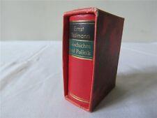 Minibuch Ernst Thälmann Geschichte Politik 1925-1933 NEXÖ 1983 MINIATURBUCH