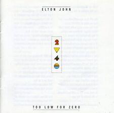 Elton John - Too Low for Zero [New CD] Germany - Import