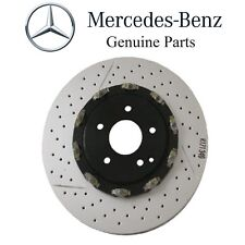 Mercedes R171 W209 Front Left OR Right Brake Disc Rotor Vented Cross Drill Slott