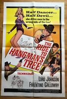 The Ride to Hangman's Tree (1967) 1 Sheet Movie Poster 27x41 Grindhouse Vintage