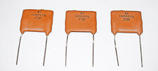 SILVER MICA CAPACITOR 1500pF 1% - 3 PIECES - VINTAGE RS COMPONENTS 1977