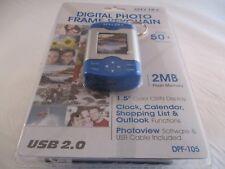 "Spectra Digital Photo Frame Keychain, Holds 50+ Pix/2MB Flash Mem./1.5"" Display"