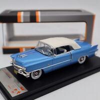 Premium X Cadillac Eldorado Biarritz 1956 Blue/White PRD581 1/43 Limited Edition