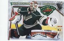 Niklas Backstrom Minnesota Wild 33 Fathead Tradeable 2010 NHL Hockey