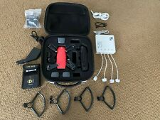 DJI Spark Quadcopter Lava/Red 3 battery, case, special charger and much more