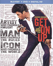 NEW Get On Up (Blu-ray Disc, 2015, 2-Disc Set, Digital Copy UltraViolet)