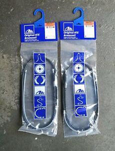ATE 2x Handbremsseil Hinten Audi A3 8L Seat LEON 1M GOLF 4 580173 / 24372701732
