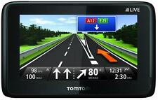 TomTom GO LIVE 1000 Europe Refurbs HD Traffic XL GPS Boxed Handsfree WOW
