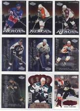 PAUL KARIYA ANAHEIM MIGHTY DUCKS 2000-2001 UD HEROES NHL LEADERS #L1