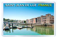 SAINT JEAN DE LUZ FRANCE FRIDGE MAGNET SOUVENIR IMAN NEVERA