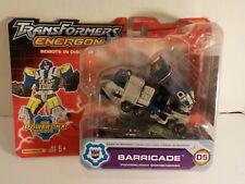 Transformers Energon Powerlinx Deluxe Class Barricade D5 BRUTICUS Combiner MOC
