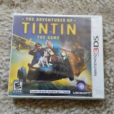 The Adventures of Tintin the game Nintendo 3DS Ubisoft Everyone