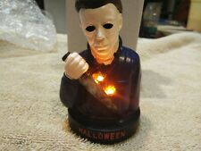 """Halloween Michael Myers Bust 4"""" Serial Resin Co. Fright Crate """"light Up"""""""