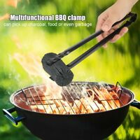 BBQ Grill Carbon Oven Barbecue Charcoal Clip Kitchen Food Cooking Salad Tongs
