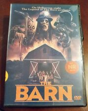 NEW!!! The Barn Extended Cut DVD- Halloween Cult Classic