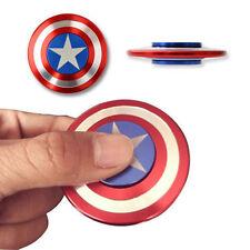 Captain America Fidget Hand Spinner Shield Toy EDC Focus ADHD Autism Anti Stress