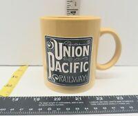 Promotional Union Pacific Coffee Mug Train Yellow Super Rare