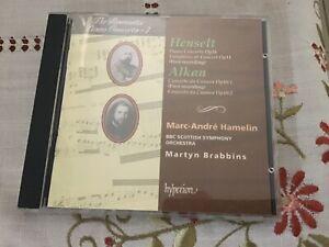 Henselt Piano Concerto Op. 16 Variations de Concert Alkan Concerto  Hyperion Cd