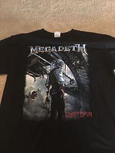 megadeth dystopia shirt