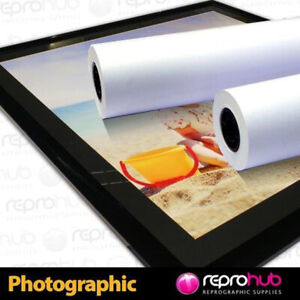 """Large format Photo Proofing SATIN Inkjet Roll 220gsm 432mm 17""""x30m HP Canon Eps"""