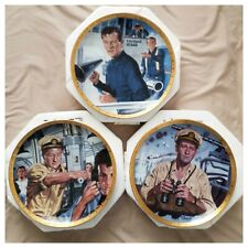 John Wayne Symbols For Navy Collectible Plates Franklin Mint (3)