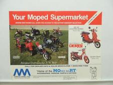 1988 Moped Mart Brochure Scooter DS-50 L9208