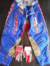 JT PANTS SIZE 28 MOTOCROSS COLLECTOR PANTS PRO RIDER PANTS DEFT FAMILY GLOVES M