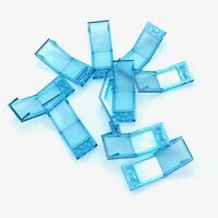Lego 10 New Trans-Light Blue Windscreen Pieces 5 x 2 x 1 2/3