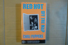 1980s' New Old Stock Sealed VHS Music Video - Red Hot Chilli Peppers Off The Map