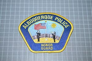 Albuquerque Police New Mexico Honor Guard Patch (B17-8)