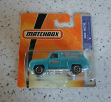 Matchbox '55 Ford F-100 Delivery Panel Truck türkis  OVP #47 MBX Metal