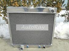 Full Aluminum Radiator for Ford Mustang V8 67-70 3 Rows Auto  68 69 1970