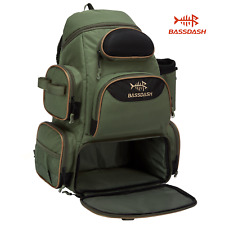 Bassdash Fishing Tackle Backpack Lightweight Tactical Shoulder Bag Multi-Pocket