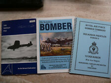 More details for the whitley file - air britain publications +yorkshire bomber story + extras