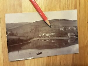 VINTAGE REAL PHOTO POSTCARD OF GOODSHELTER NEAR SALCOMBE IN DEVON