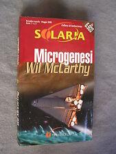 SOLARIA #   5 - WIL MCCARTHY - MICROGENESI - OTTIMO