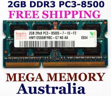 HYNIX 2GB DDR3 PC3-8500 1066Mhz LAPTOP Memory for iMac MacBook & Windows FREEpos