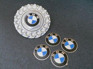 BMW E30 4x original 70mm Embleme für Kreuzspeichen Deckel